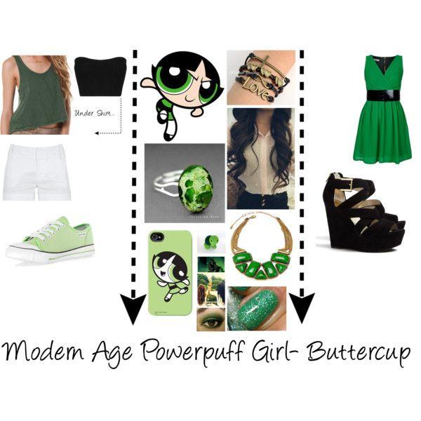 Modern Age Powerpuff Girls - Buttercup  Halloween 2K14 -9039