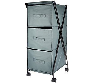 Design Accents 3-Bin Multi-Purpose Storage Drawer with Wheels
