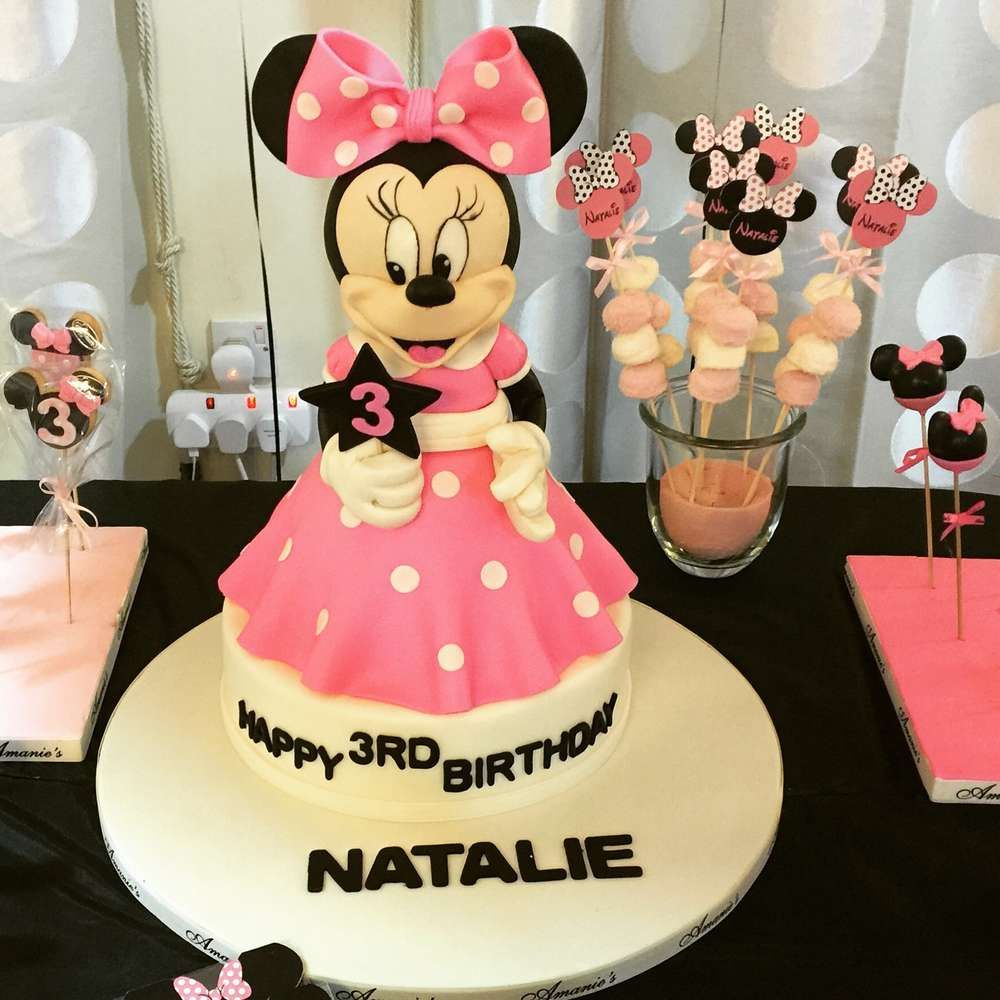 Mickey Mouse / Minnie Mouse Birthday Party Ideas