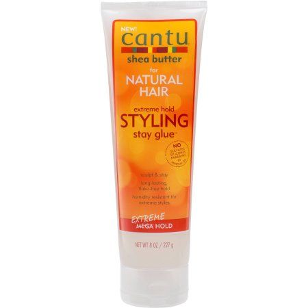 Cantu Natural Hair Styling Gel Stay Extreme Hold Tube 8 Oz Walmart Com Cantu For Natural Hair Styling Gel Natural Hair Styles
