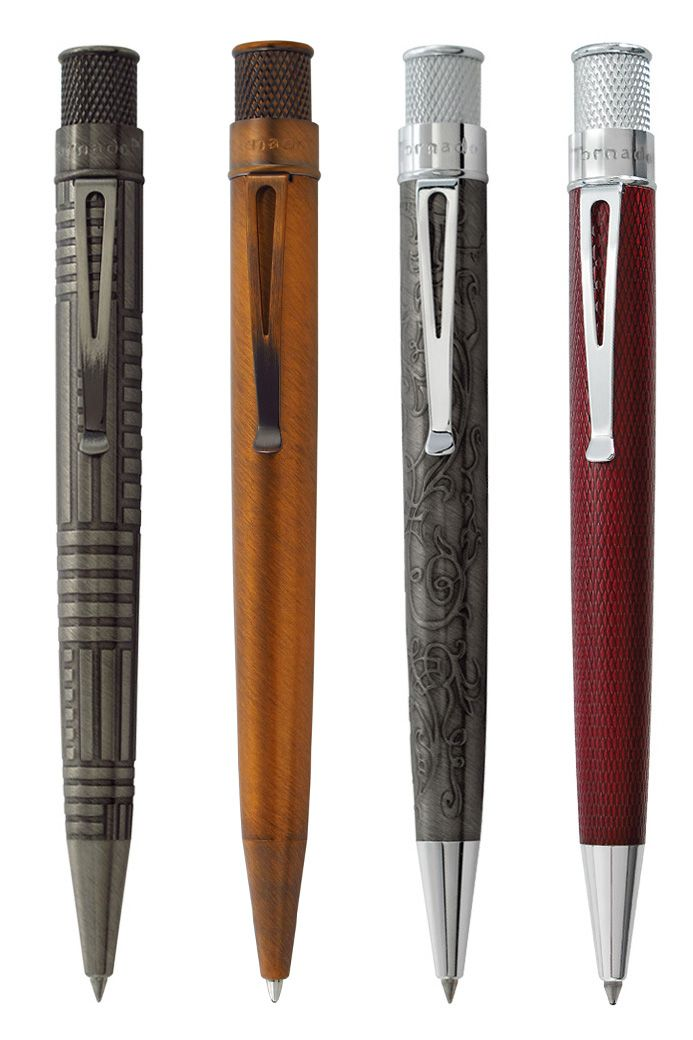 Tornado Vintage Metalsmith pens now available @ Quips 'N' Quotes