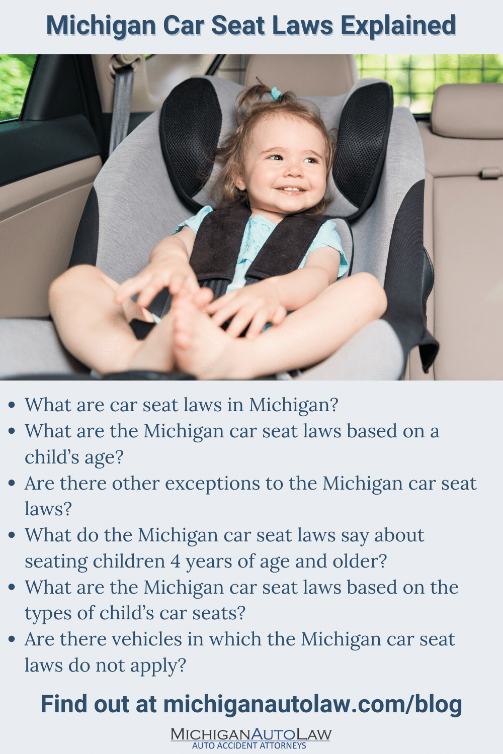 Michigan Car Seat Laws What You Need To Know in 2020