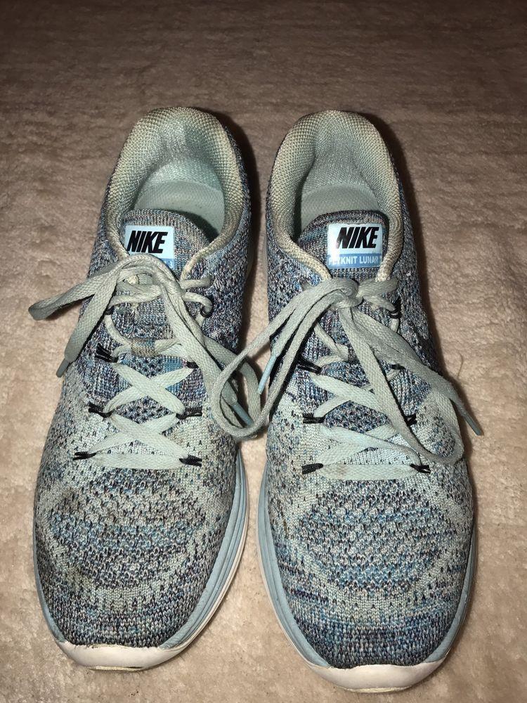 Womens Nike Flyknit Lunar3 Lunar 3 Running Shoes 698182 404 Sz 8 5 Copa Blue Fashion Clothing Shoes Accessories Wome Nike Women Nike Flyknit Running Shoes