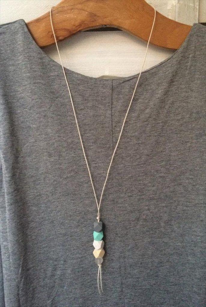 20 maravillosas ideas de joyería de bricolaje para mujeres – Collar de bricolaje – #DIY #diyjewelry …
