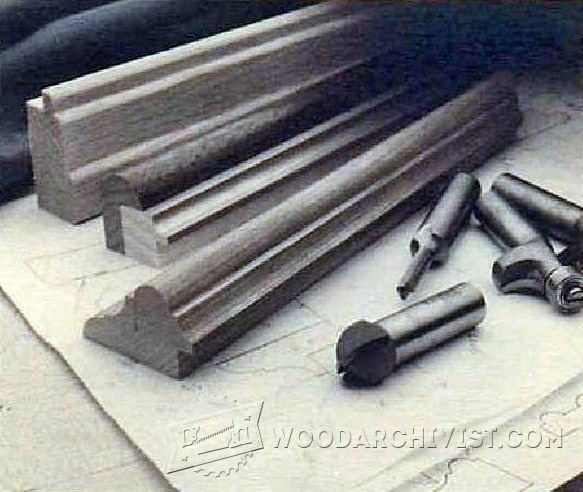 Making Picture Frame Molding - Woodwork, Woodworking, Woodworking ...