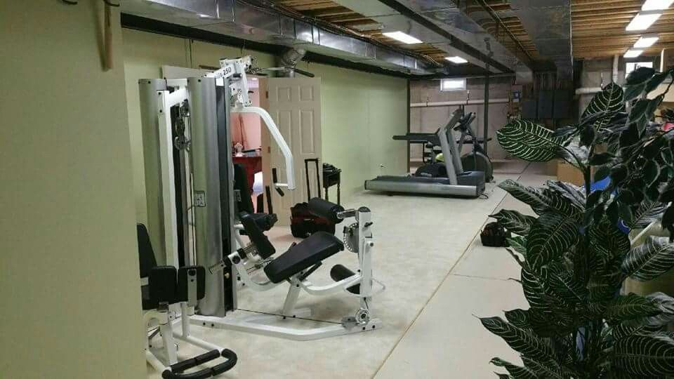 Lovely Home Gym Installation