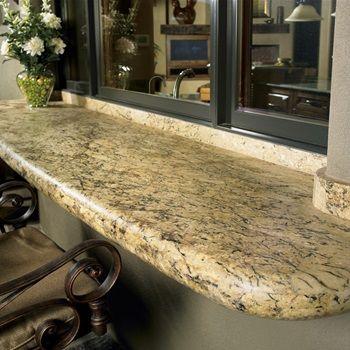 Desert Amarillo Natural Stone Granite Slab | Arizona Tile