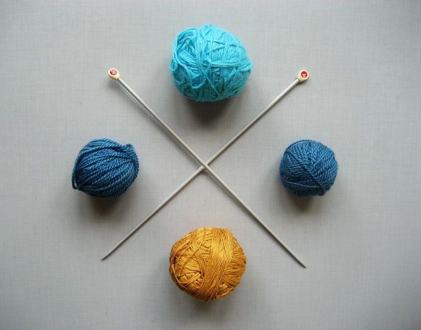 yarn knolled