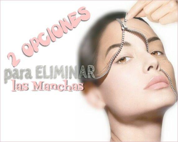 CONSEJOS PARA CHICAS : 2 OPCIONES PARA ELIMINAR MANCHAS. ..mascarillas