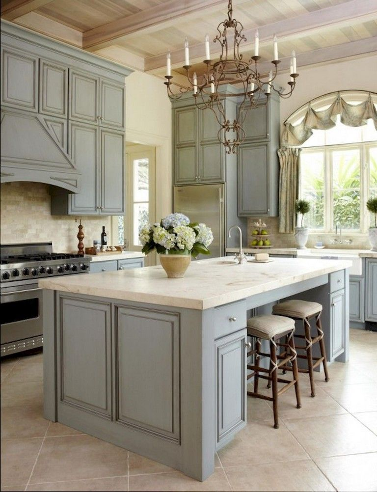 40+ Gorgeous French Country Kitchen Design  Decor Ideas Kitchen