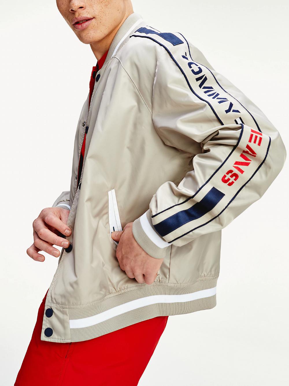 Reversible Bomber Jacket Blue Tommy Hilfiger Outerwear Jackets Jackets Men S Coats Jackets [ 1333 x 1000 Pixel ]