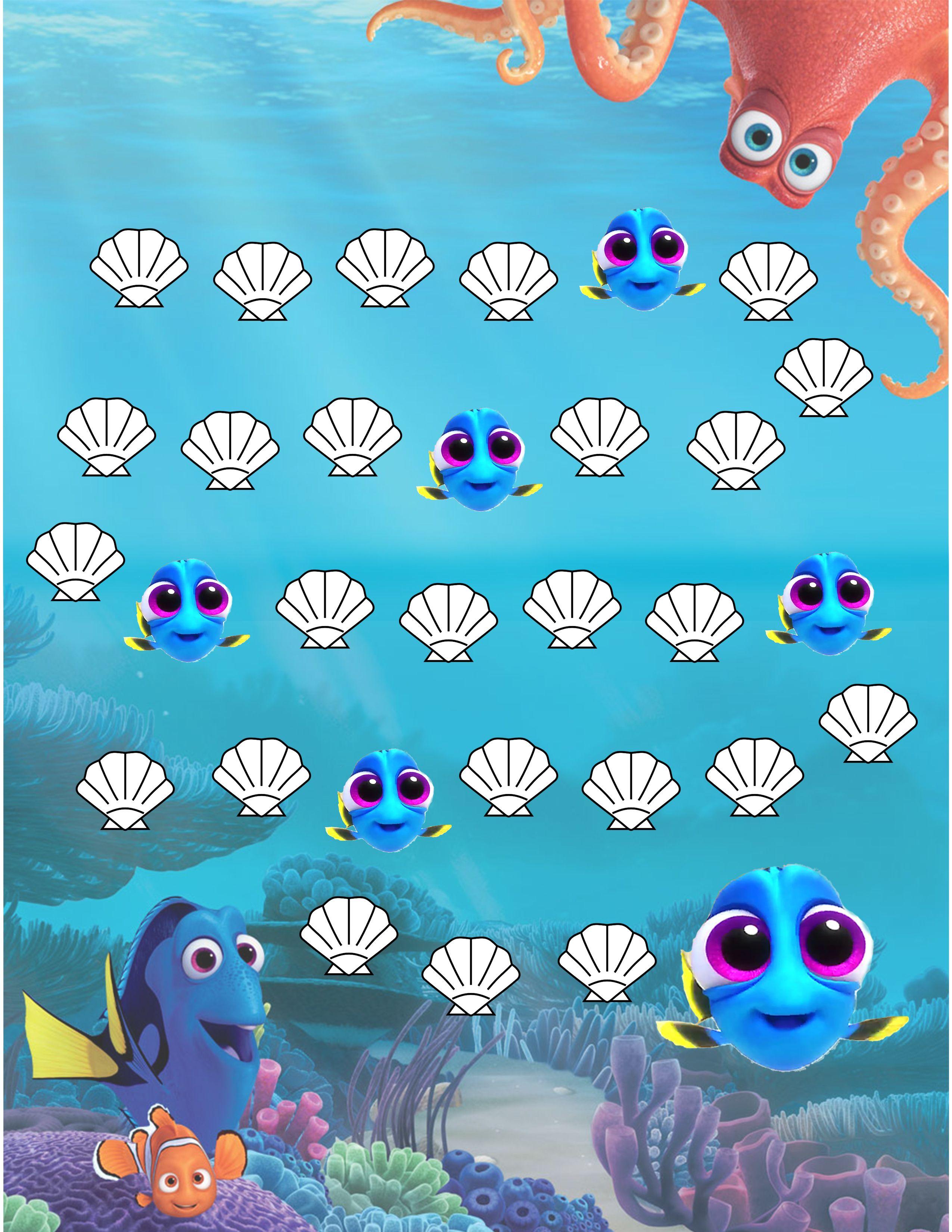 Finding Nemo/Dory Potty Sticker Reward Chart … | Design and ...
