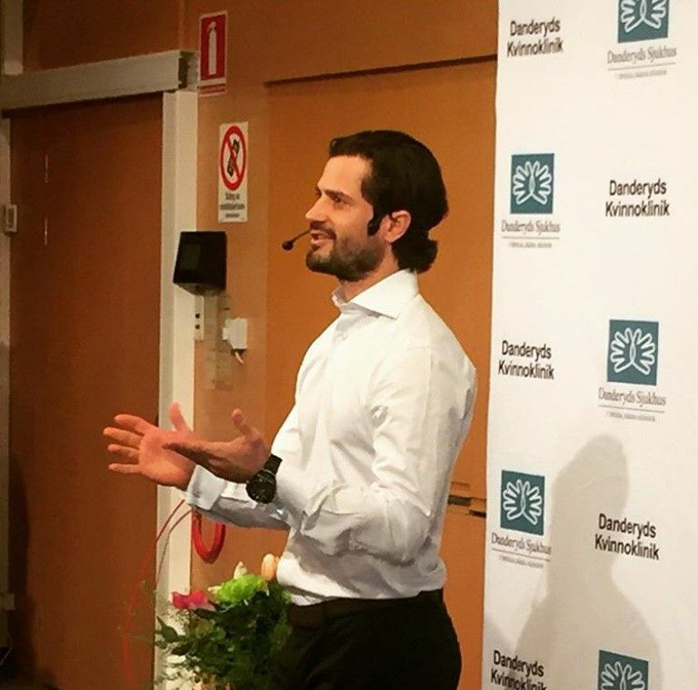 Sweden S Prince Carl Philip Announces During A Press