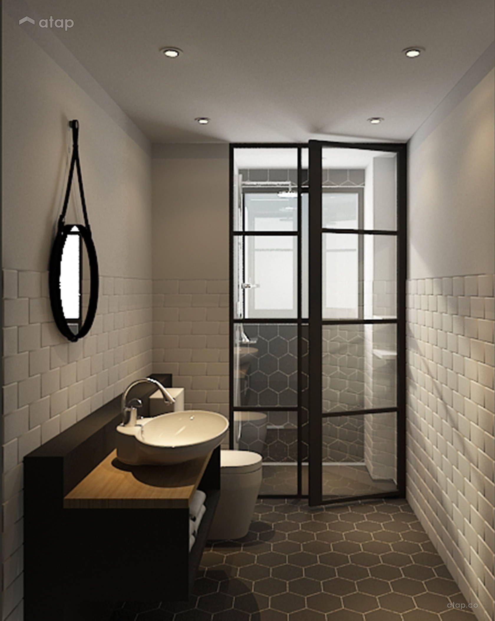 Minimalistic Bathroom Condominium Design Ideas Photos Malaysia Atap Co Bathroom Renovations Condominium Design Bathroom Renovation