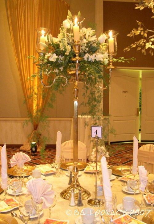 Candelabra centerpiece Elite Decorative Arts blog – Wedding Chandelier Centerpieces