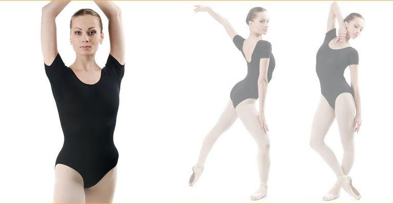 Dance Leotard short Sleeve For Adult  5b6cfde3088