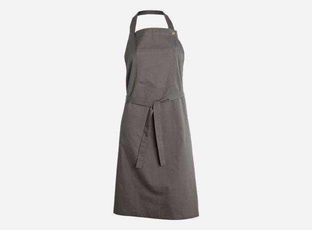 Af0538 - Apron, dark grey, 100% cotton