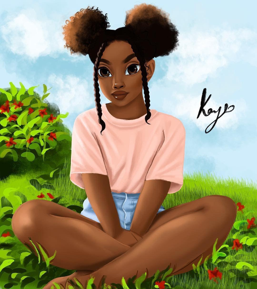 Pinterest LexualSun Black love art, Black girl art