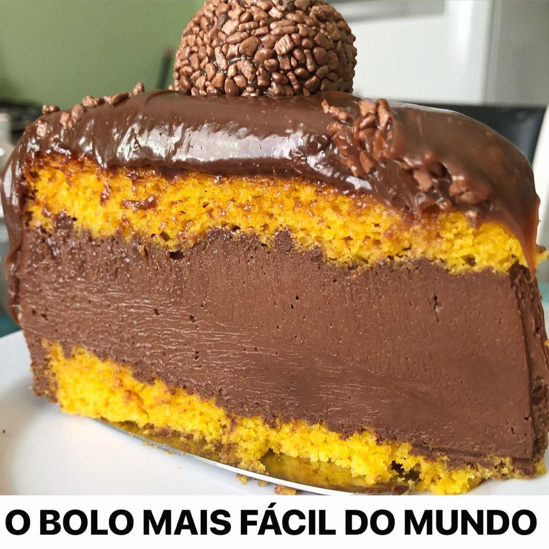 Pin De Ingrid Conceicao Silva Em Doces Bolo De Cenoura Receita
