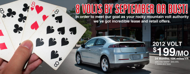 Medved Chevy Volt Lease Deal Chevy Volt Lease Deals Chevy Colorado