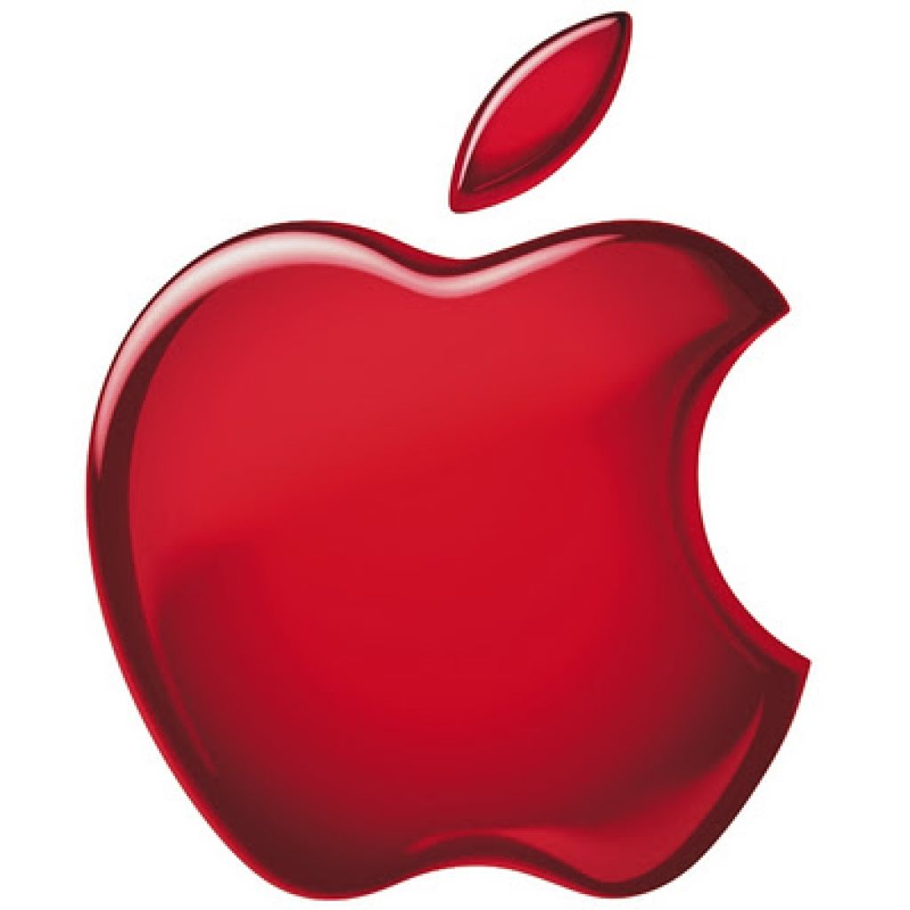 apple logo red apple logo free ipad hd wallpaper a