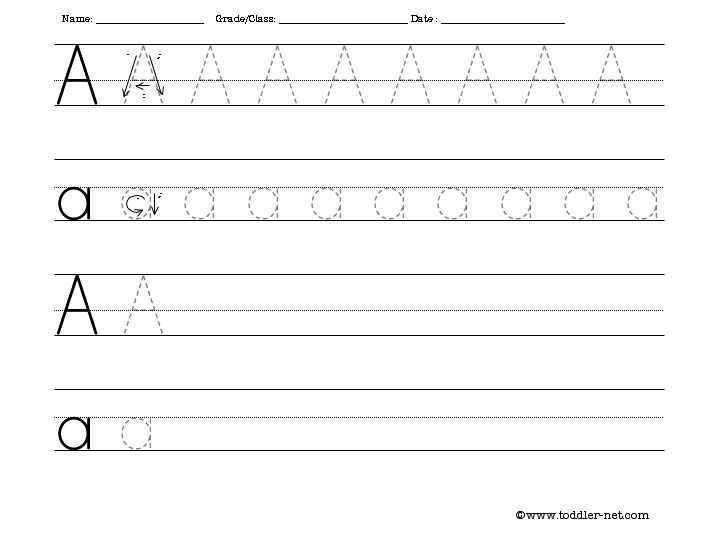 TracingWriting Letter A  Sheep    Writing Worksheets