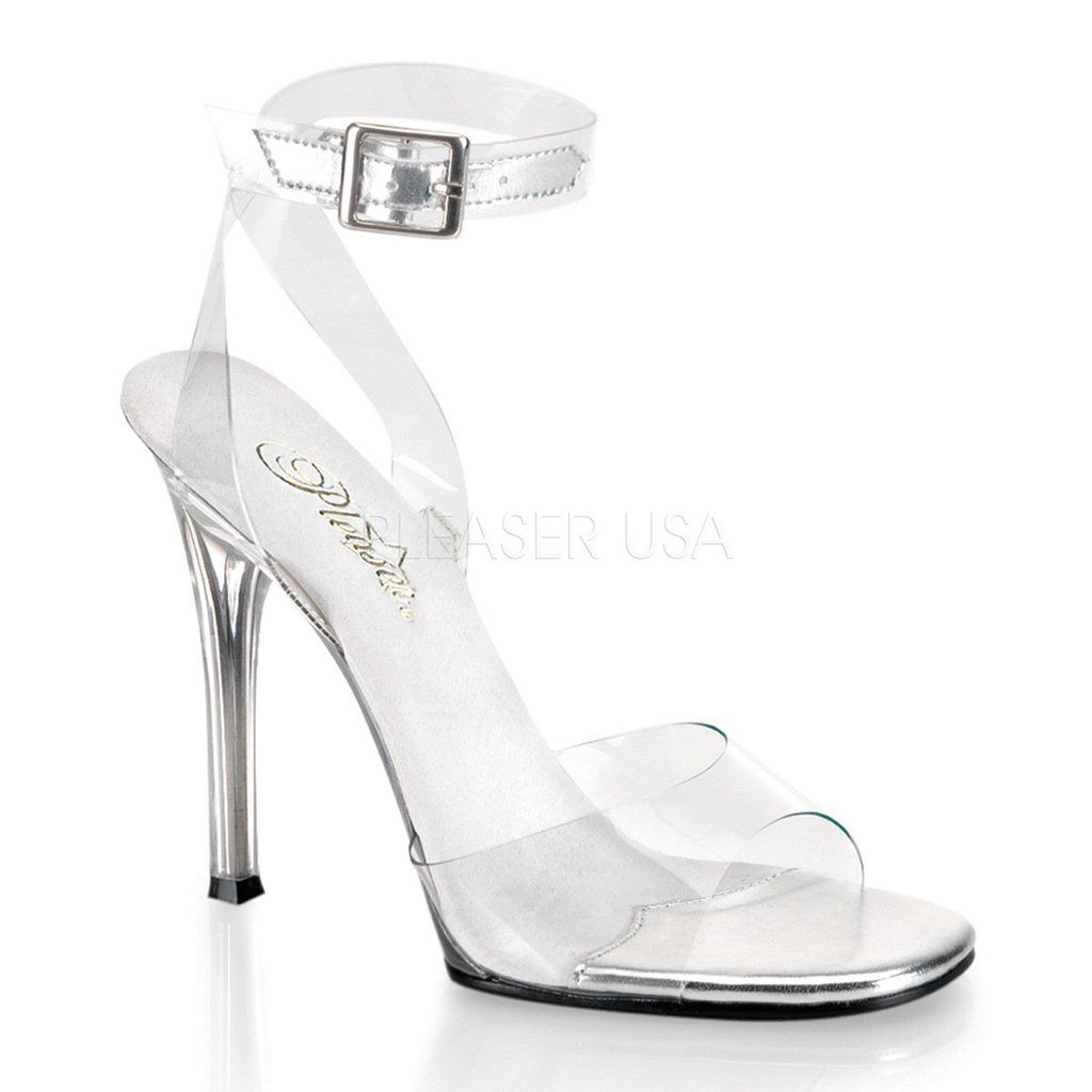 GALA-06 Fabulicious Sexy Shoes 4 1/2 Inch Heel Clear Posing Sandals. Open  Toe SandalsStrap SandalsStiletto ...