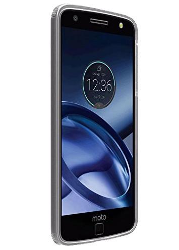 Verizon Two Tone Bumper Silicone Case For Motorola Moto Z Droid