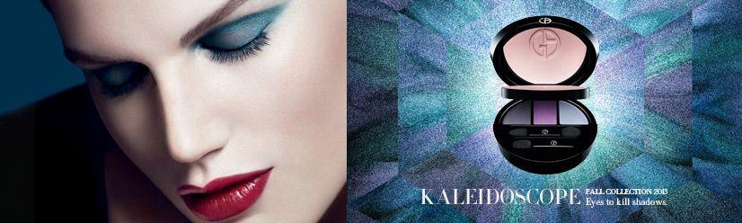 Giorgio Arman Beauty - Fall 2013 Kaleidoscope makeup collections