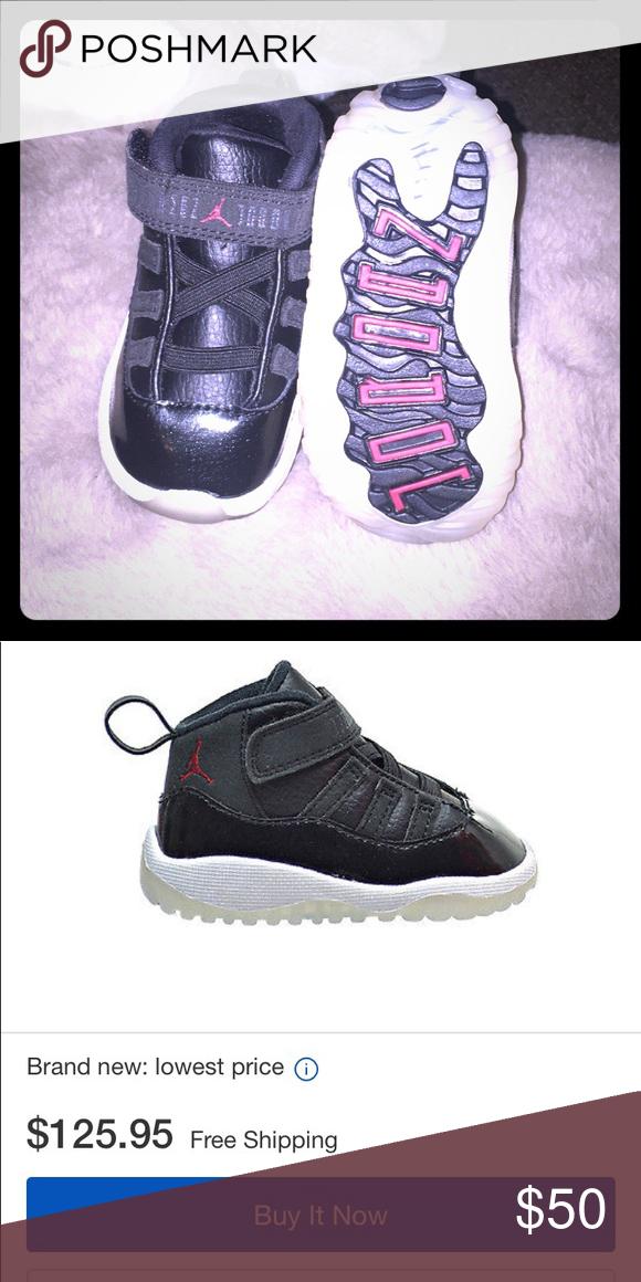 Jordan retro 11 Size 4 infant retro