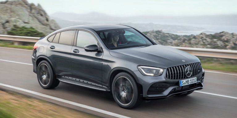 The 2019 Mercedes Amg Glc 43 4matic Coupe C 253 In Selenite Grey