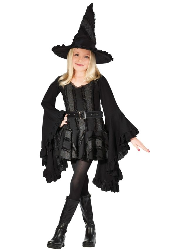 Eine Hexe Halloween Kostume Fur Kinder Halloweenkostume Yola Kinder Hexenkostum Madchen Hexenkostum Und Halloween Kostume Kinder