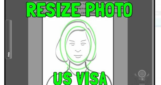 Resize Photo for US Visa Photo Tool Requirements (Green Card Lottery - best of birth certificate affidavit for green card