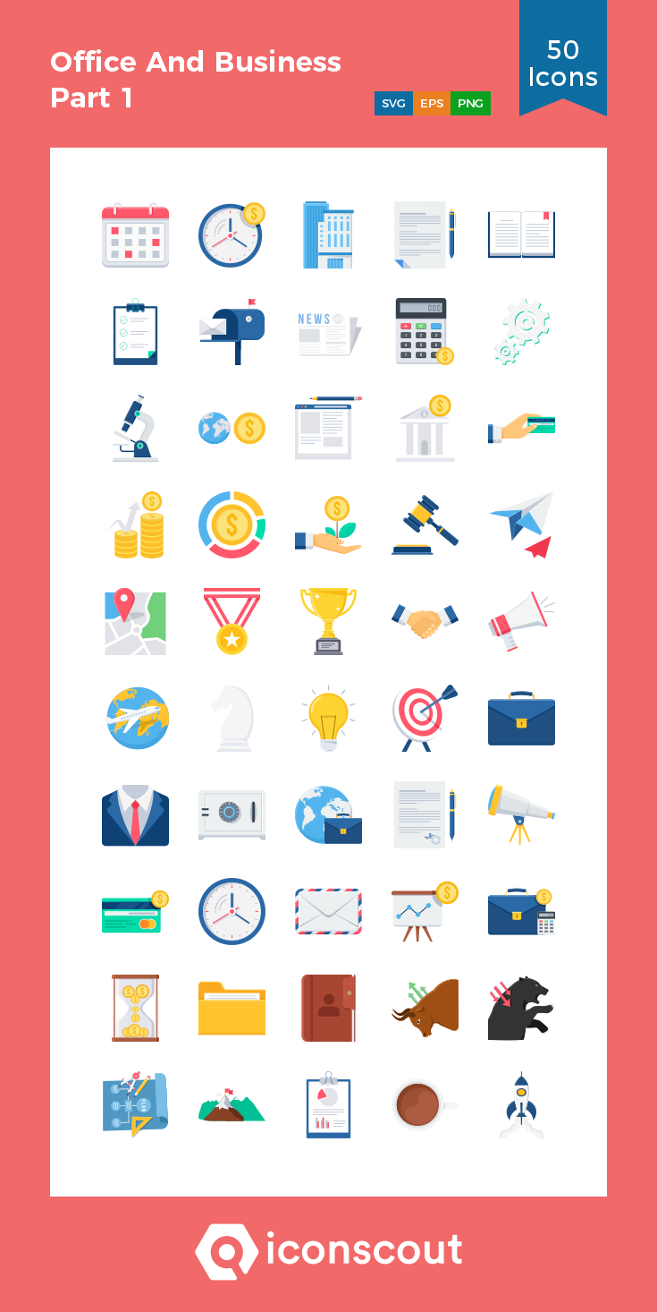 Download Office And Business Part 1 Icon Pack Available In Svg Png Eps Ai Icon Fonts Icon Pack Business Icon Icon Font