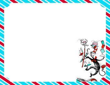Store Scrapnteach Teacherspayteachers Com Dr Seuss Classroom Teaching Dr Seuss Writing Paper