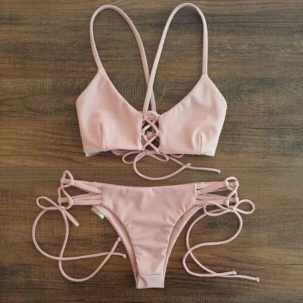 e1486c03e3 Sexy black triangle bikini Swimsuit
