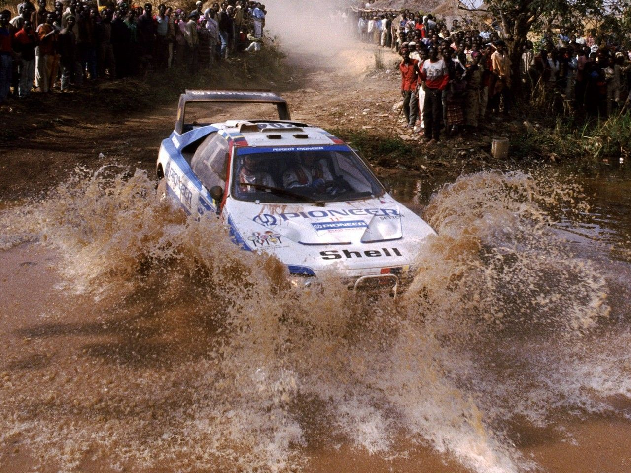Peugeot 405 T16 Gr Rally Raid Car Paris Dakar Avec Images