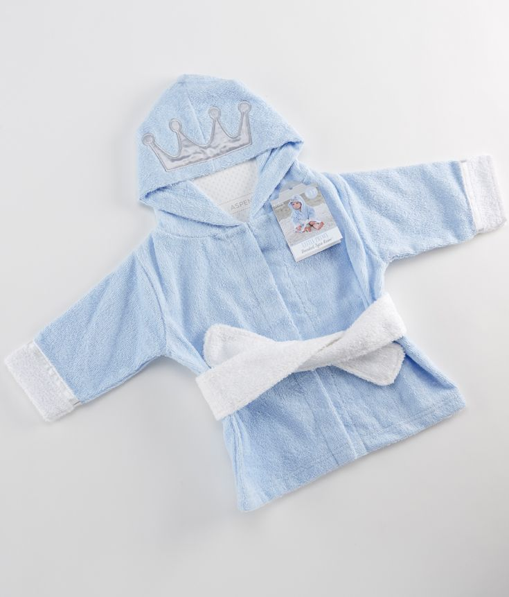 7cfd7255a5 Little Prince Hooded Spa Robe (Personalization Available)