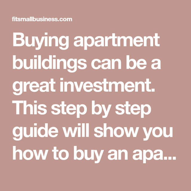 How To Buy An Apartment Complex In 7 Steps Apartment Building