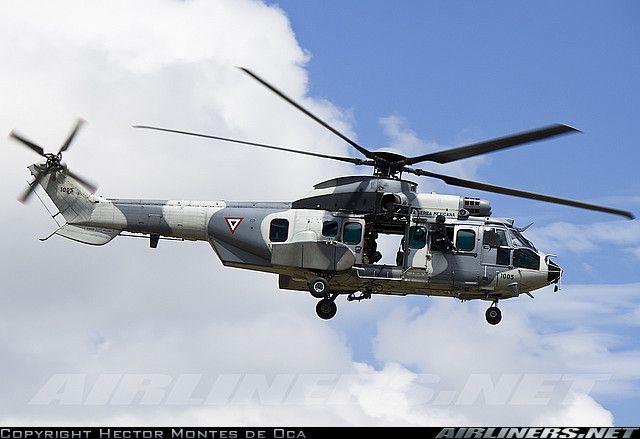 Eurocopter EC-725AP Cougar Mk2+  Mexico - Air Force