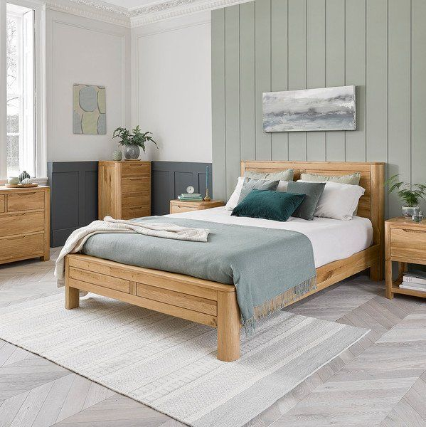 Romsey Super King Size Bed In Solid Oak Oak Furniture Land In 2020 Home Decor Bedroom Oak Bedroom Oak Furniture Land