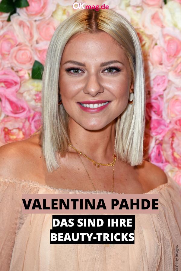 Gzsz Star Valentina Pahde Enthullt Beauty Geheimnisse In 2020 Valentina Pahde Beauty Gzsz Stars