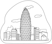 30 St Mary Axe Skyscraper Coloring Page Free Printable Coloring Pages Coloring Pages 30 St Mary Axe