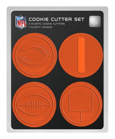 997bb4c6 Chicago Bears Cookie Cutter Set by Boelter Brands on #zulily today ...