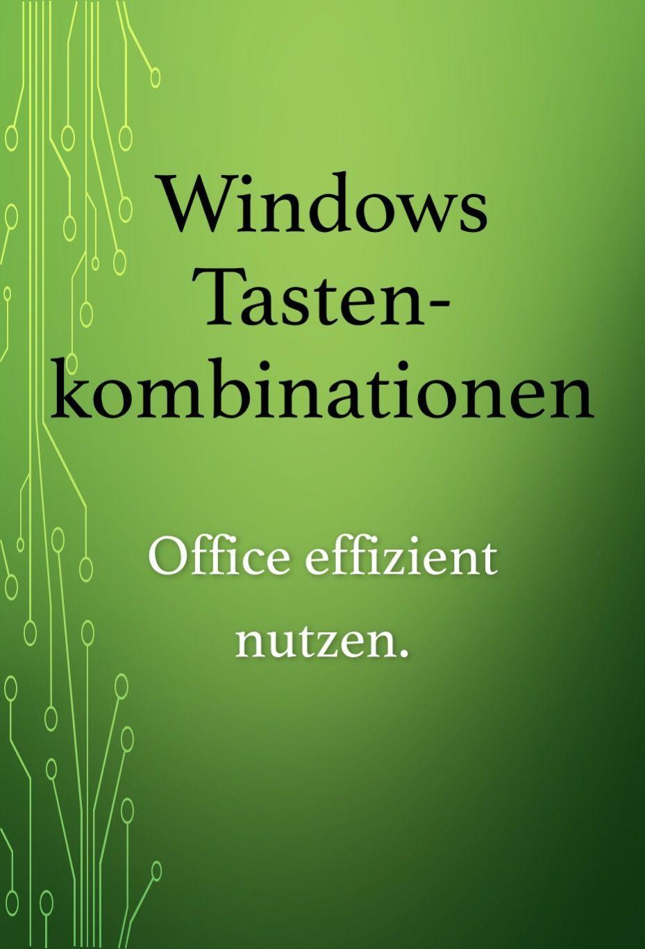 Windows Tastenkombinationen Hilfreiche Shortcuts Fur Office Nutzen Programingsoftwa Computers Tablets And Accessories Programing Software Keyboard Shortcuts