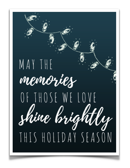 Holiday Wishes from Becky and Jessica - Our Side of Suicide  |Christmas Cards For The Grieving