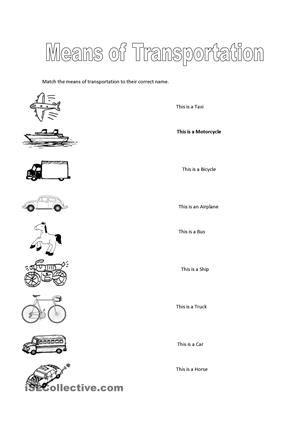 mains of transportation and comunication worsheet buscar con google education pinterest. Black Bedroom Furniture Sets. Home Design Ideas