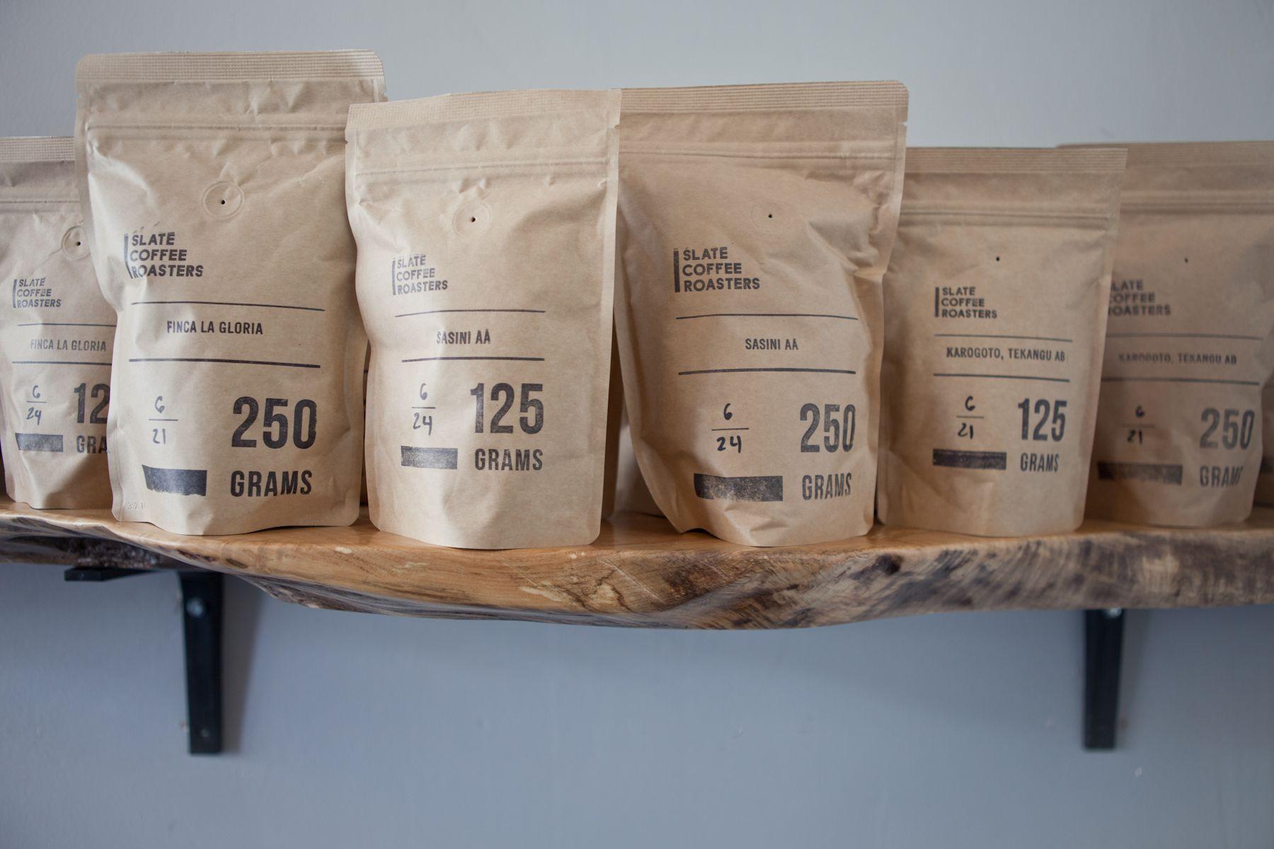 nice, simple packaging: seattle: slate coffee roasters kinfolk