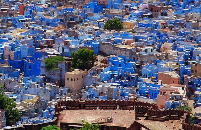 The Blue City, Jodhpur, India (With images) Blue city