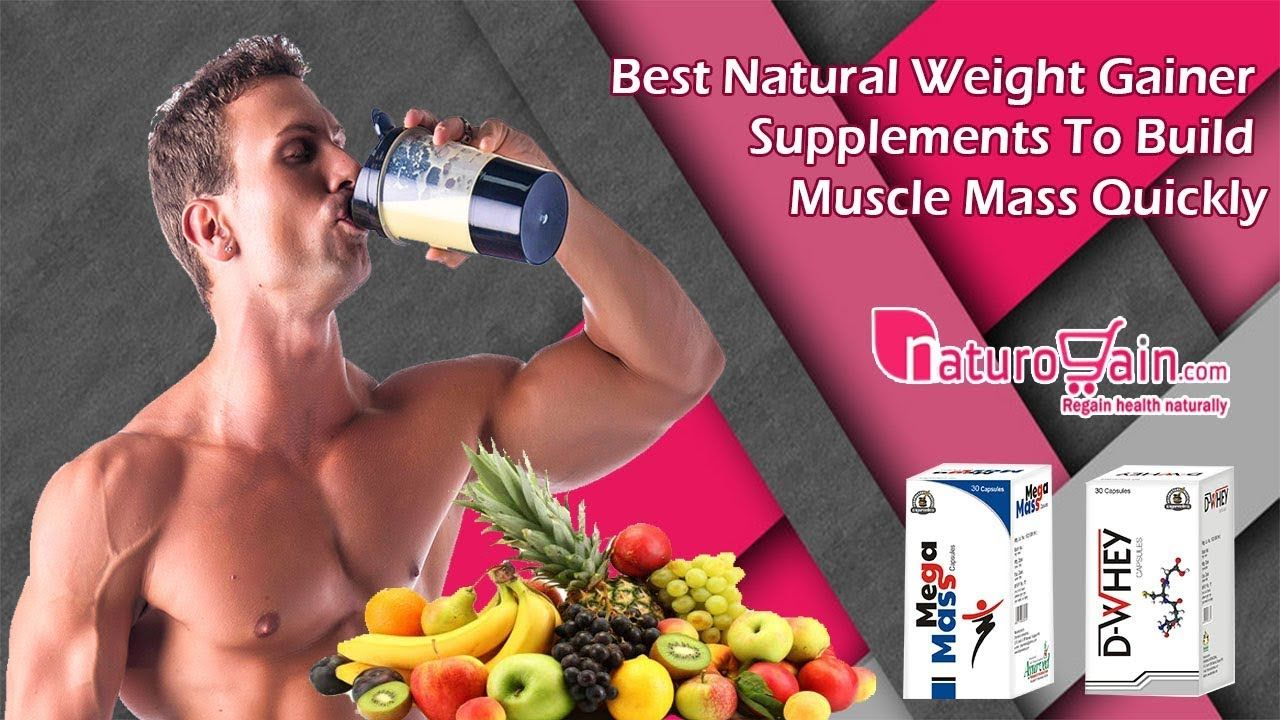 Best natural weight gainer supplements to build muscle